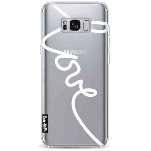 Casetastic Softcover Samsung Galaxy S8 Plus - Written Love White
