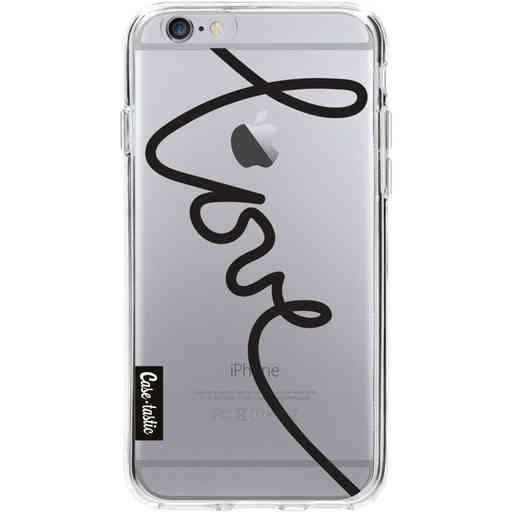 Casetastic Softcover Apple iPhone 6 / 6s - Written Love Black