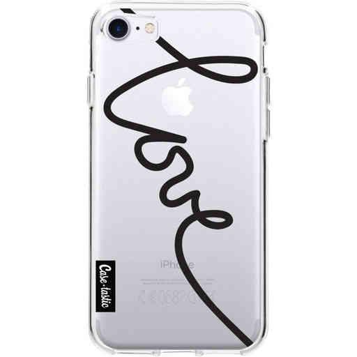 Casetastic Softcover Apple iPhone 7 / 8 / SE (2020) - Written Love Black