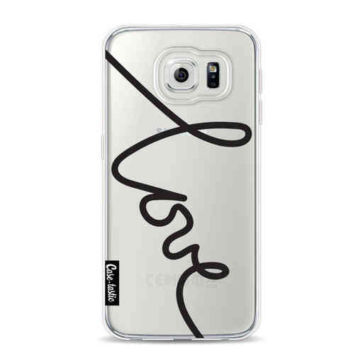 Casetastic Softcover Samsung Galaxy S6 - Written Love Black