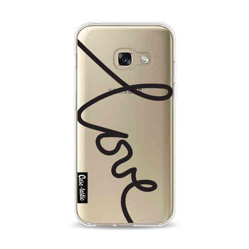 Casetastic Softcover Samsung Galaxy A3 (2017)  - Written Love Black