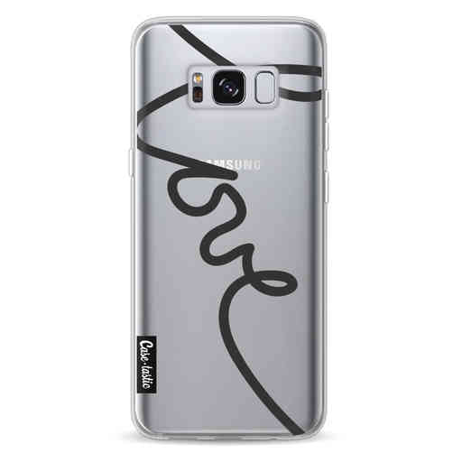 Casetastic Softcover Samsung Galaxy S8 - Written Love Black