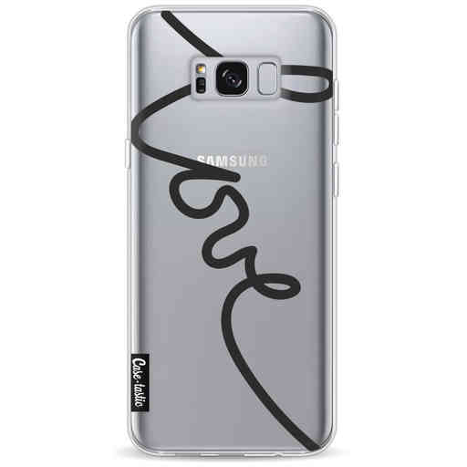 Casetastic Softcover Samsung Galaxy S8 Plus - Written Love Black