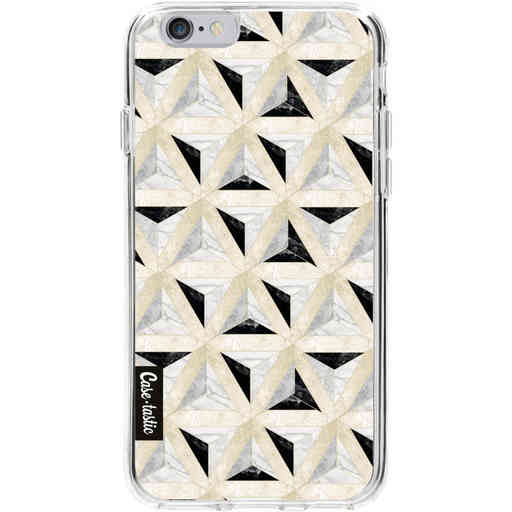 Casetastic Softcover Apple iPhone 6 / 6s - Marble Triangle Blocks