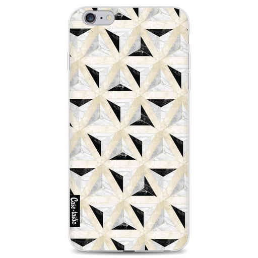 Casetastic Softcover Apple iPhone 6 Plus / 6s Plus - Marble Triangle Blocks