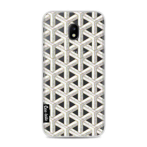 Casetastic Softcover Samsung Galaxy J3 (2017) - Abstract Marble Transparent