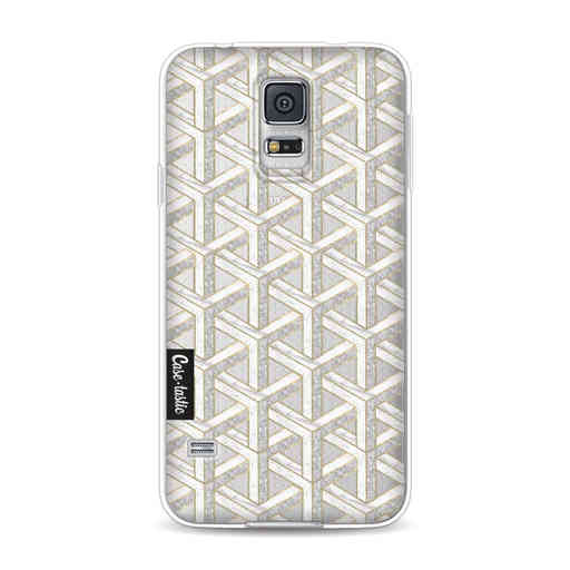 Casetastic Softcover Samsung Galaxy S5  - Abstract Marble Transparent