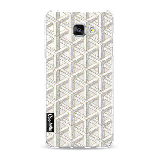 Casetastic Softcover Samsung Galaxy A5 (2016) - Abstract Marble Transparent