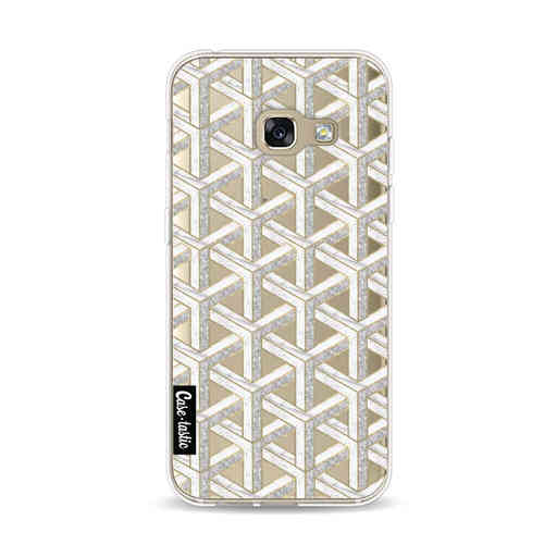 Casetastic Softcover Samsung Galaxy A3 (2017)  - Abstract Marble Transparent