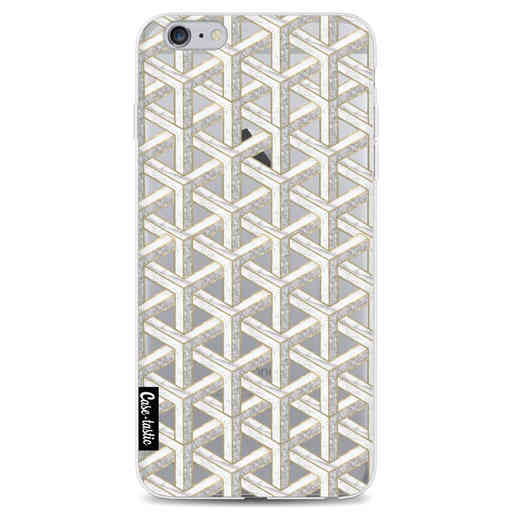 Casetastic Softcover Apple iPhone 6 Plus / 6s Plus - Abstract Marble Transparent