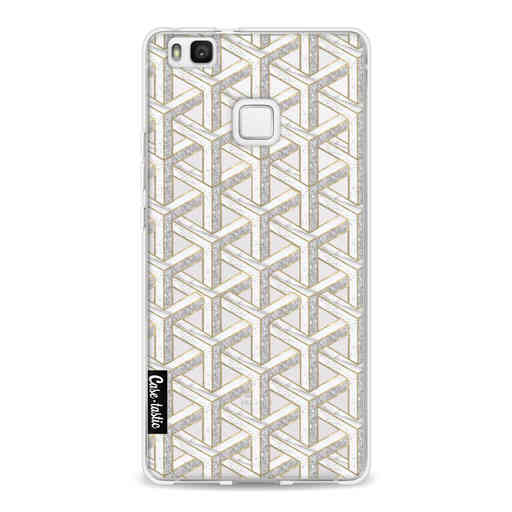 Casetastic Softcover Huawei P9 Lite - Abstract Marble Transparent