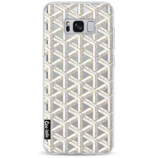 Casetastic Softcover Samsung Galaxy S8 Plus - Abstract Marble Transparent
