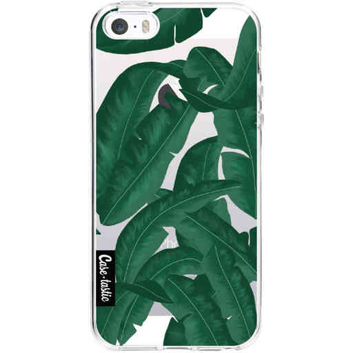 Casetastic Softcover Apple iPhone 5 / 5s / SE - Banana Leaves