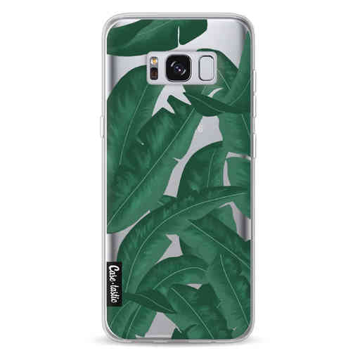 Casetastic Softcover Samsung Galaxy S8 - Banana Leaves