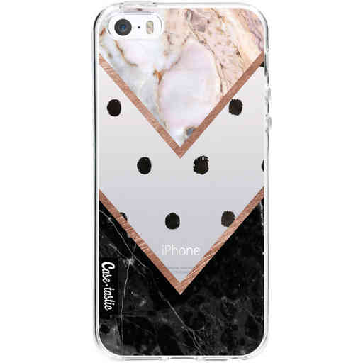 Casetastic Softcover Apple iPhone 5 / 5s / SE - Mix of Marbles