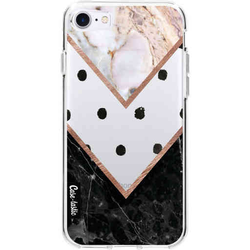 Casetastic Softcover Apple iPhone 7 / 8 / SE (2020) - Mix of Marbles
