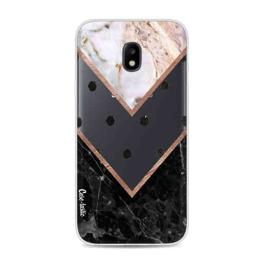 Casetastic Softcover Samsung Galaxy J3 (2017) - Mix of Marbles
