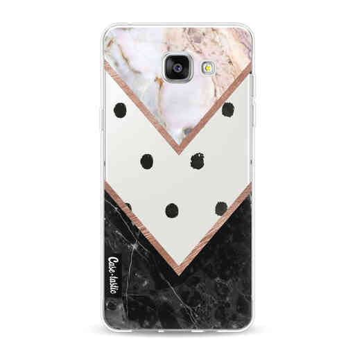 Casetastic Softcover Samsung Galaxy A5 (2016) - Mix of Marbles