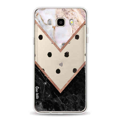 Casetastic Softcover Samsung Galaxy J5 (2016) - Mix of Marbles