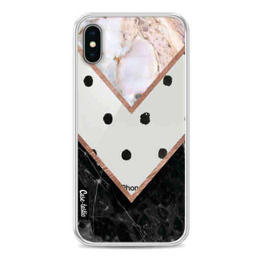 Casetastic Softcover Apple iPhone X / XS - Mix of Marbles