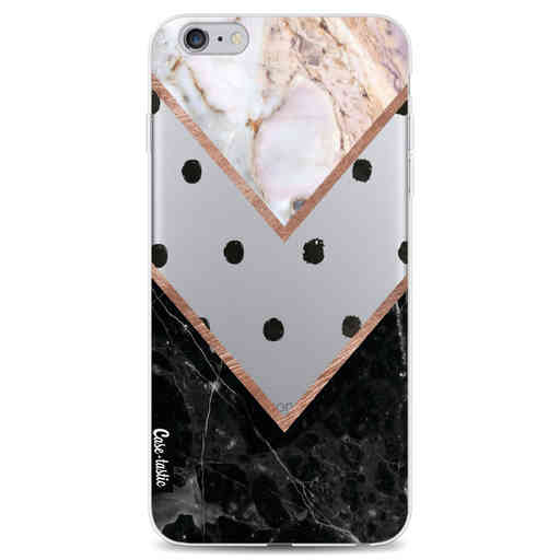 Casetastic Softcover Apple iPhone 6 Plus / 6s Plus - Mix of Marbles