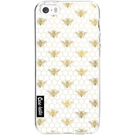 Casetastic Softcover Apple iPhone 5 / 5s / SE - Golden Honey Bee