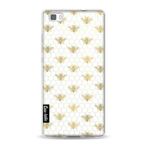 Casetastic Softcover Huawei P8 Lite (2015) - Golden Honey Bee