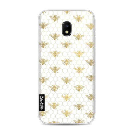 Casetastic Softcover Samsung Galaxy J3 (2017) - Golden Honey Bee