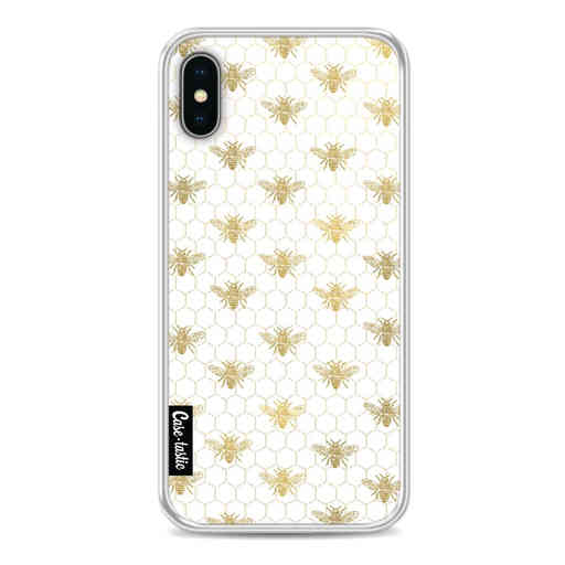 Casetastic Softcover Apple iPhone X / XS - Golden Honey Bee