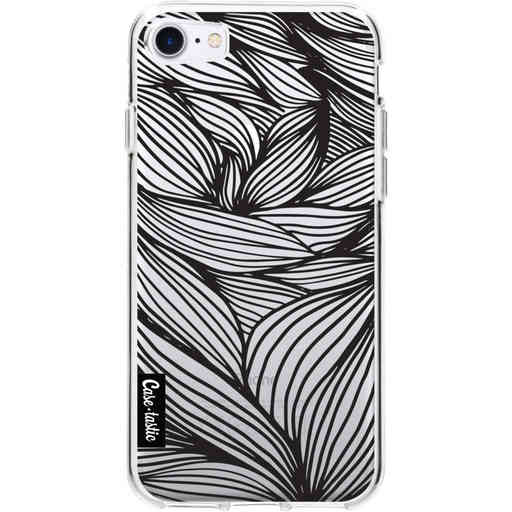 Casetastic Softcover Apple iPhone 7/8 - Wavy Outlines Black