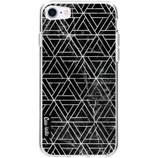Casetastic Softcover Apple iPhone 7 / 8 - Abstract Marble Triangles