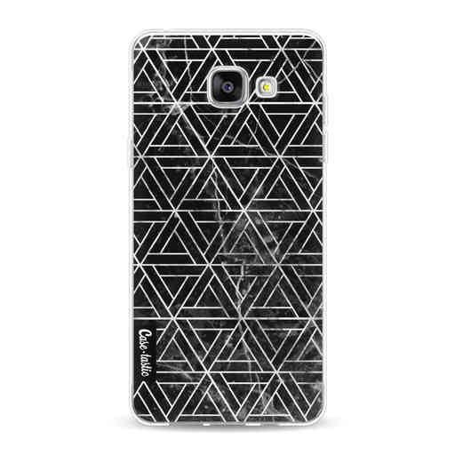 Casetastic Softcover Samsung Galaxy A5 (2016) - Abstract Marble Triangles