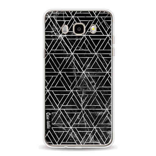 Casetastic Softcover Samsung Galaxy J5 (2016) - Abstract Marble Triangles