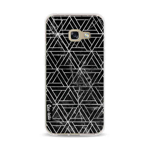 Casetastic Softcover Samsung Galaxy A3 (2017)  - Abstract Marble Triangles