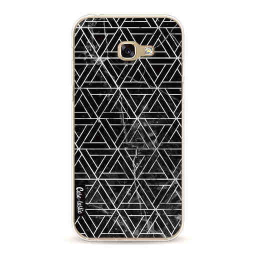 Casetastic Softcover Samsung Galaxy A5 (2017)  - Abstract Marble Triangles