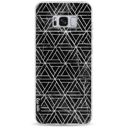 Casetastic Softcover Samsung Galaxy S8 Plus - Abstract Marble Triangles