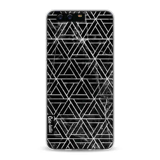 Casetastic Softcover Huawei P10 - Abstract Marble Triangles