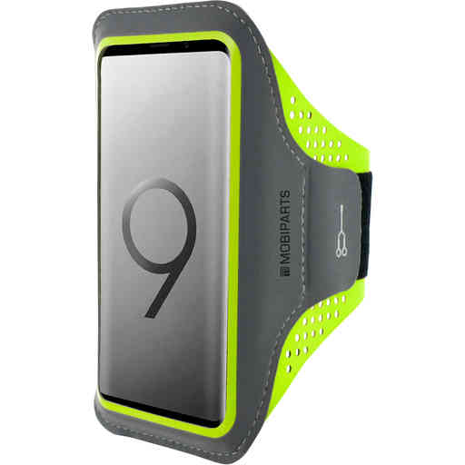 Casetastic Comfort Fit Sport Armband Samsung Galaxy S9 Neon Green