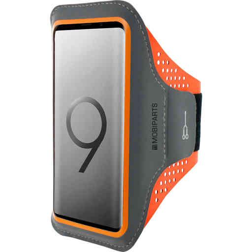 Casetastic Comfort Fit Sport Armband Samsung Galaxy S9 Neon Orange
