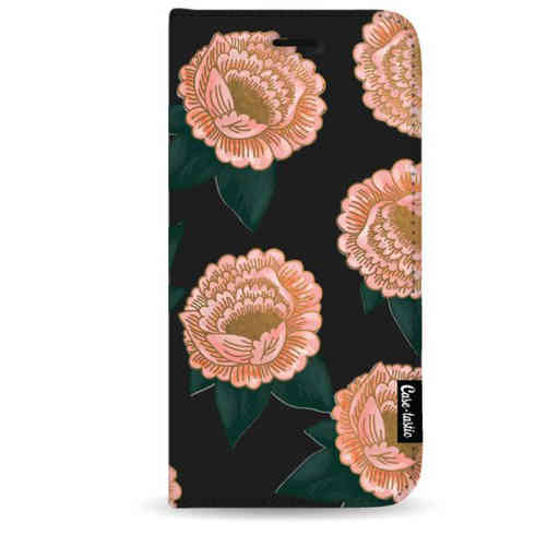 Casetastic Wallet Case Black Samsung Galaxy Note 8 - Winterly Flowers