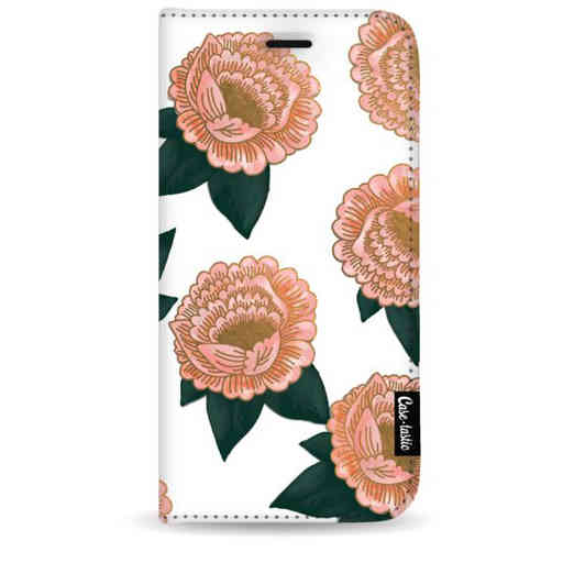 Casetastic Wallet Case White Samsung Galaxy Note 8 - Winterly Flowers