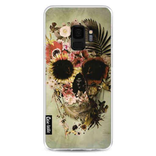 Casetastic Softcover Samsung Galaxy S9 - Garden Skull Light