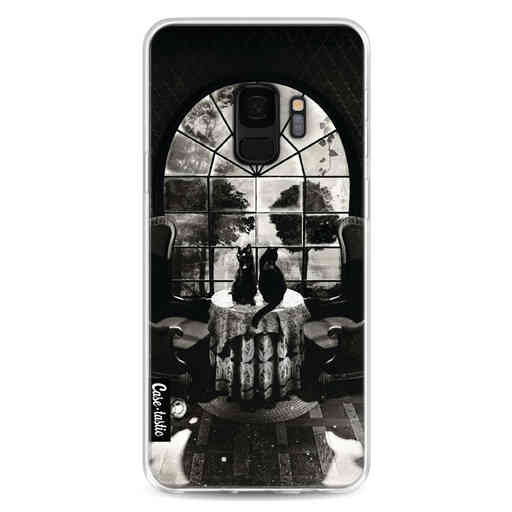 Casetastic Softcover Samsung Galaxy S9 - Room Skull BW