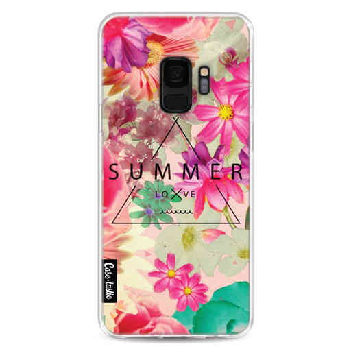 Casetastic Softcover Samsung Galaxy S9 - Summer Love Flowers