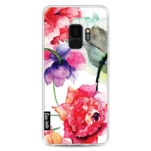 Casetastic Softcover Samsung Galaxy S9 - Watercolor Flowers