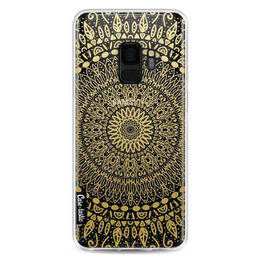 Casetastic Softcover Samsung Galaxy S9 - Gold Mandala