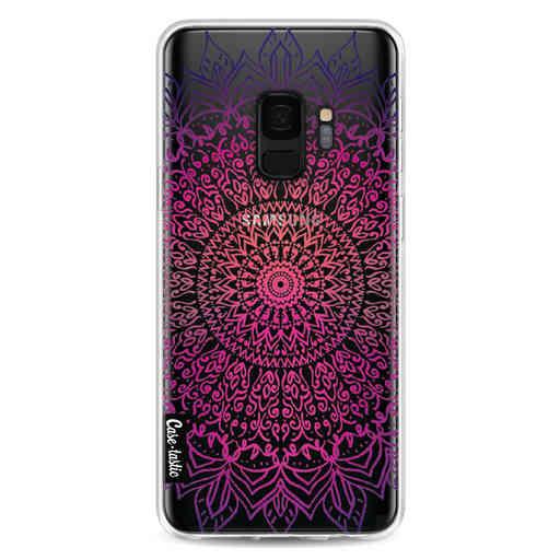 Casetastic Softcover Samsung Galaxy S9 - Happy Mandala