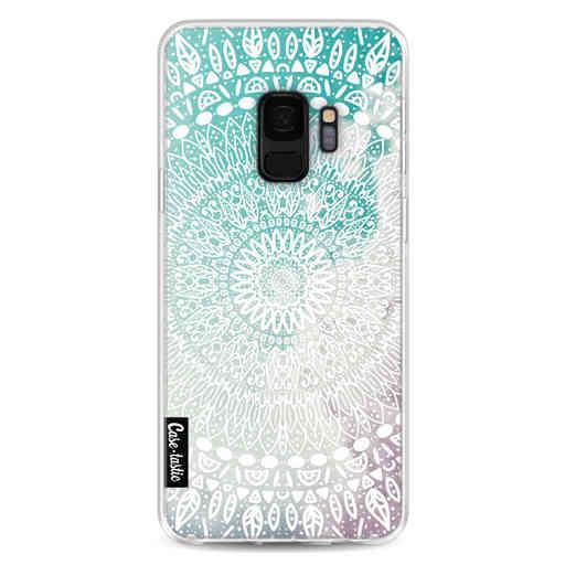 Casetastic Softcover Samsung Galaxy S9 - Rainbow Mandala