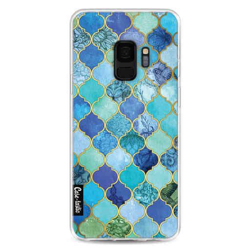 Casetastic Softcover Samsung Galaxy S9 - Aqua Moroccan Tiles