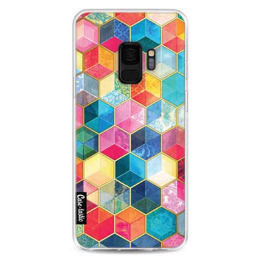 Casetastic Softcover Samsung Galaxy S9 - Bohemian Honeycomb